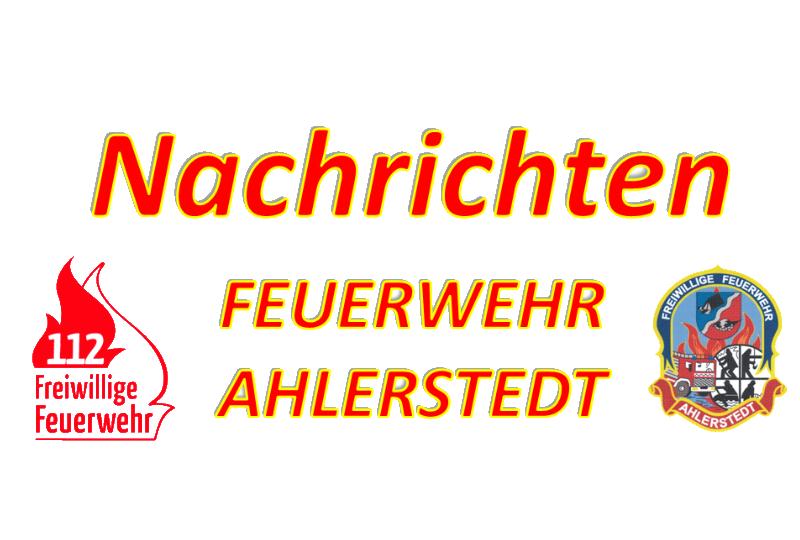 Alarmübung in Hohenhausen