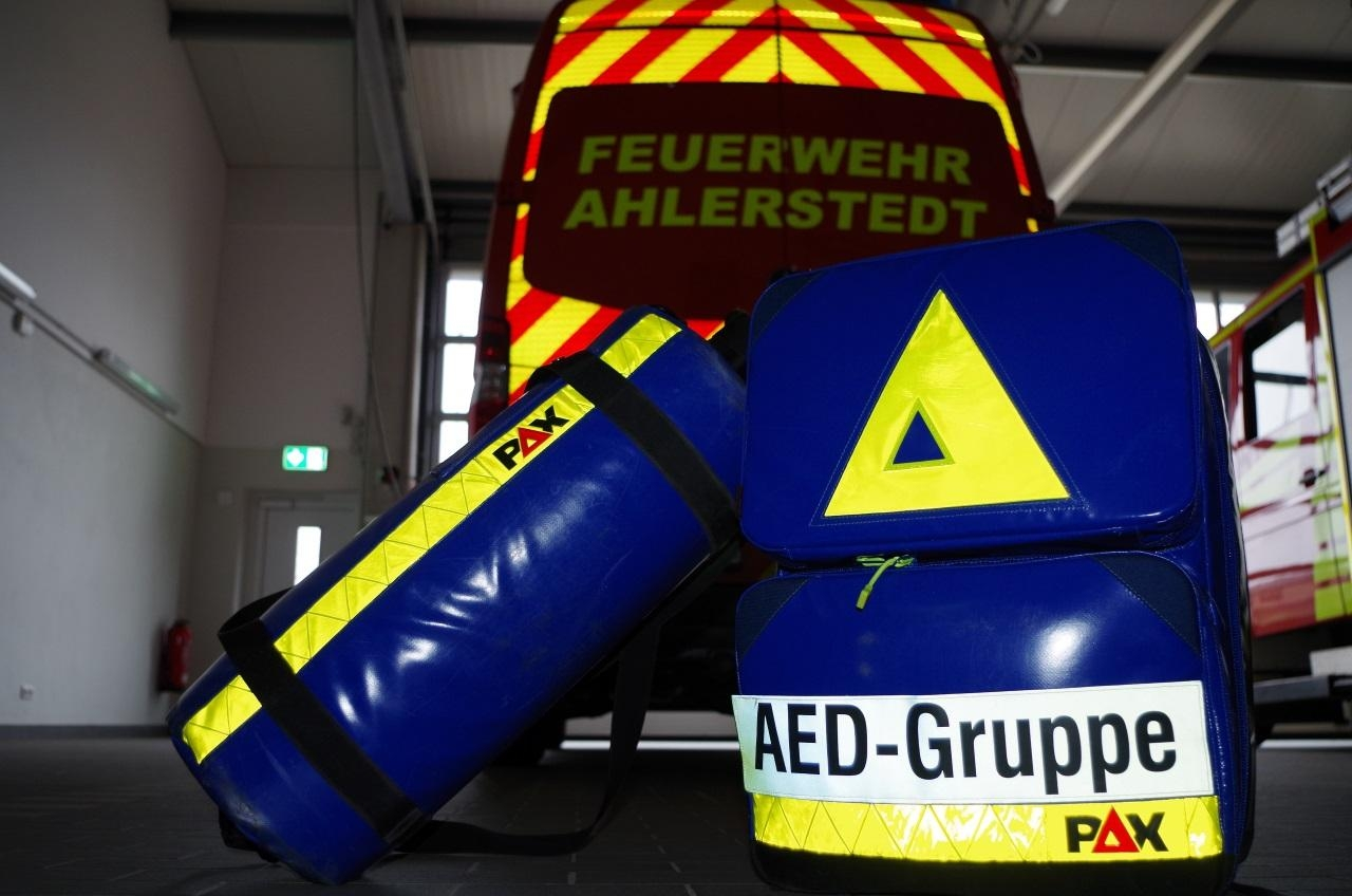 Notfalleinsatz AED-Gruppe